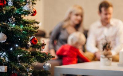 De feestdagen doorkomen als gescheiden gezin